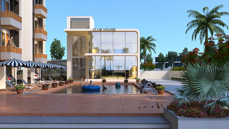 3d exterior modeling