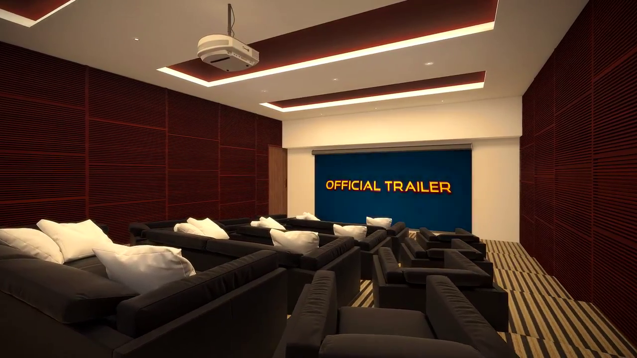 3D interior theater