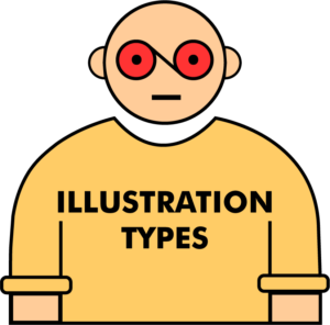 character_illustration_types